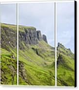 The Quiraing Triptych Canvas Print by Chris Thaxter