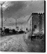 The Rain Makes Mysteries Canvas Print by Wendy J St Christopher