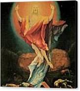The Resurrection Of Christ Canvas Print by Matthias Grunewald