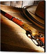 The Rifle Canvas Print by Olivier Le Queinec