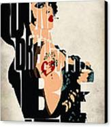The Rocky Horror Picture Show - Dr. Frank-n-furter Canvas Print by Ayse Deniz