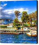 The Sagamore Hotel On Lake George Canvas Print by David Patterson