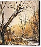 The Secret Stream Canvas Print by Roland Byrne