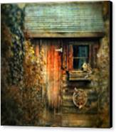 The Shed Canvas Print by Jessica Jenney