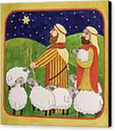 The Shepherds Canvas Print by Linda Benton