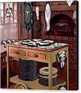 The Soft Clock Shop Canvas Print by Mike McGlothlen