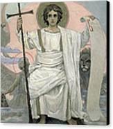 The Son Of God   The Word Of God Canvas Print by Victor Mikhailovich Vasnetsov