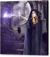 The Spell Is Cast Canvas Print by Linda Lees