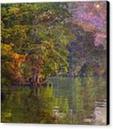 The Stars Give Way To The Sun Canvas Print by J Larry Walker