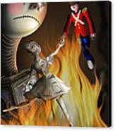 The Steadfast Tin Soldier ...the Envy... Canvas Print by Alessandro Della Pietra