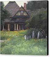 The Sullivan House Canvas Print by Anna Rose Bain