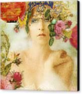 The Summer Queen Canvas Print by Aimee Stewart