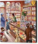 The Sweetshop Canvas Print by Steve Crisp