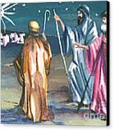 The Three Kings Canvas Print by Elisabeta Hermann