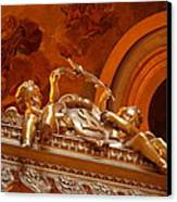 The Tombs At Les Invalides - Paris France - 011319 Canvas Print by DC Photographer