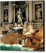 The Trevi Fountain Canvas Print by Warren Home Decor