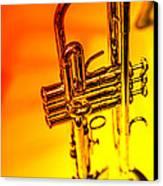 The Trumpet Canvas Print by Karol Livote