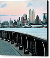 The Upper West Side Canvas Print by JC Findley