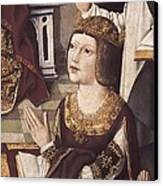 The Virgin Of The Catholic Monarchs Canvas Print by Everett