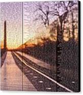 The Wall Canvas Print by JC Findley