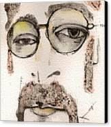 The Walrus As John Lennon Canvas Print by Mark M  Mellon