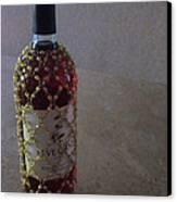 The Warm Glow Of A Chilled Wine Canvas Print by Guy Ricketts