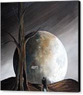 The Warning By Shawna Erback Canvas Print by Shawna Erback