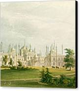 The West Front Canvas Print by John Nash