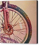 The Wheel In Color Canvas Print by Jenny Armitage