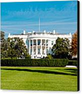 The White House Canvas Print by Greg Fortier