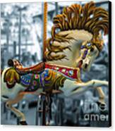 The Wild Stallion Canvas Print by Colleen Kammerer