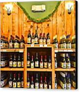 The Wine Cellar Canvas Print by Frozen in Time Fine Art Photography