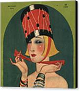 Theatre 1923 1920s Usa Magazines Art Canvas Print by The Advertising Archives