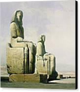 Thebes Canvas Print by David Roberts