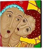 Theotokos Canvas Print by Sarah Loft