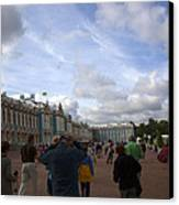 They Come To Catherine Palace - St. Petersburg - Russia Canvas Print by Madeline Ellis