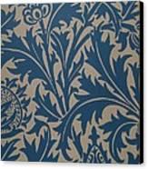 Thistle Design Canvas Print by William Morris