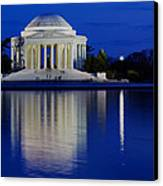Thomas Jefferson Memorial Canvas Print by Andrew Pacheco