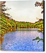 Thousand Trails Preserve Natchez Lake  Canvas Print by Bob and Nadine Johnston