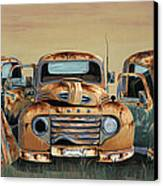 Three Amigos Canvas Print by John Wyckoff