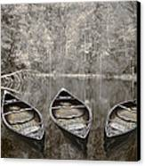 Three Canvas Print by Debra and Dave Vanderlaan