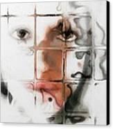Through The Window Canvas Print by Gun Legler