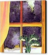 Through The Window Canvas Print by Patricia Griffin Brett