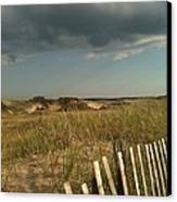 Thunder Dunes Canvas Print by Tricia Nilsson