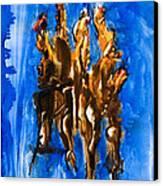 Thunderbolt Canvas Print by Kongtrul Jigme Namgyel