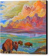 Thunderheads Canvas Print by Jenn Cunningham