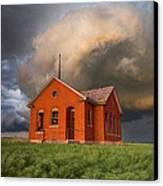 Thunderous Plains Canvas Print by Jill Van Doren Rolo