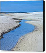 Tidal Pools Canvas Print by Susan Leggett