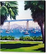 Tide Lands Park Coronado Canvas Print by Mary Helmreich