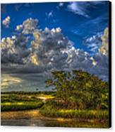 Tide Water Canvas Print by Marvin Spates